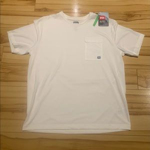 Helly Hansen Size XL, Athletic T-shirt with Pocket